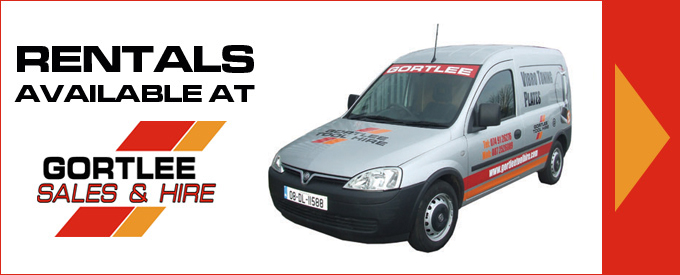 Gortlee Plant & Tool Hire Letterkenny - Rentals