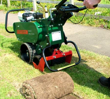 rent sod removal machine